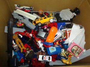 おもちゃの山の買取をしました